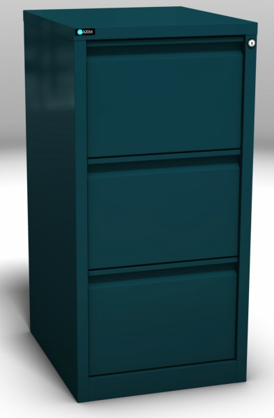 Easy Glide 3 Drawer Deep Teal