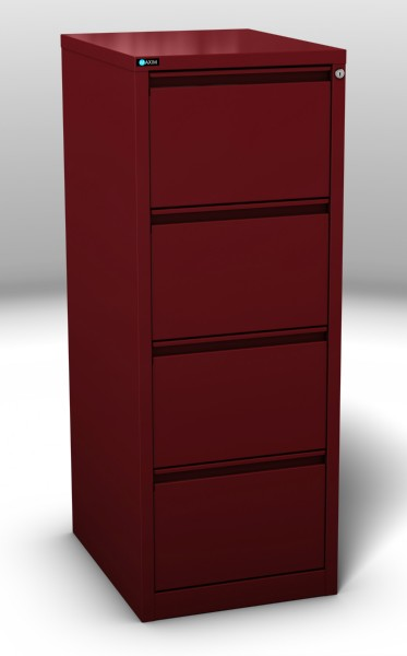 Ultra Glide Filling Cabinet 4 Drawer