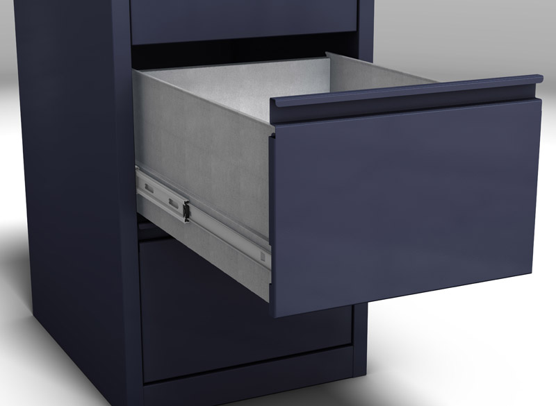 Ultra Glide Drawer Open