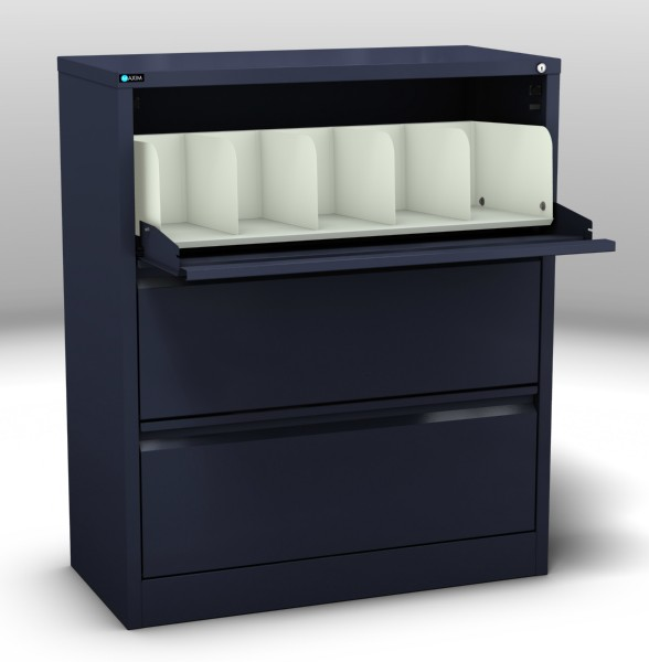 Coded File Cabinet 3 Drawer
