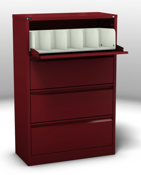 Coded File Cabinet 4 Drawer
