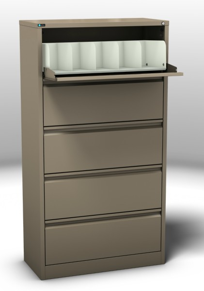 Coded File Cabinet 5 Drawer