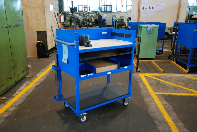 Maxim Filing Systems Custom Tool Trolley And Toolbox